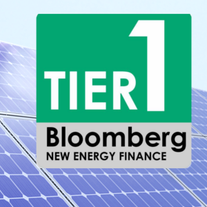 Bloomberg Tier 1 Solar Panels List 2018