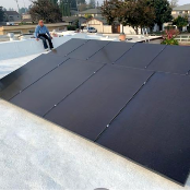 Renvu Review 5 Stars : Eichler Flat Roof PV System