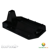 ECOLIBRIUM SOLAR Ecofoot2+ Base (Black) EPDM Roof Interface