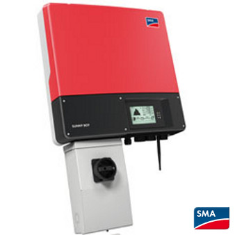 SMA Sunny Boy SB 3000TL-US Grid-Tie String Inverter 208/240V With DC Disconnect