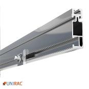 UNIRAC Rail Standard Duty 168 in. 14 Ft. CLEAR SolarMount SM
