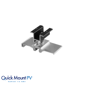 QUICKMOUNT Quick Rack Panel Clamp 2 inch Black 33 mm Frame